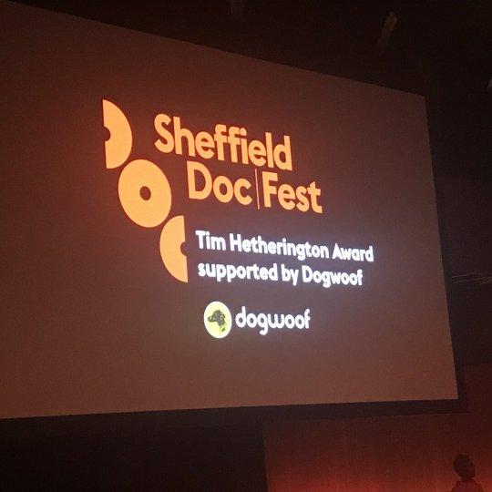 Tim Hetherington Award at Sheffield Documentary Festival 2017