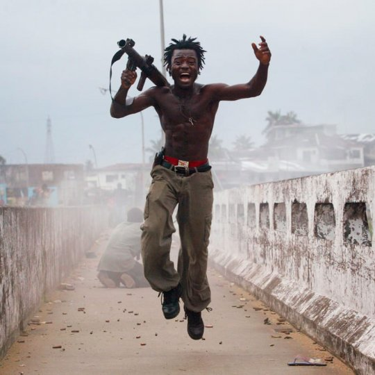 War And Peace In Liberia - Tim Hetherington And Chris Hondros
